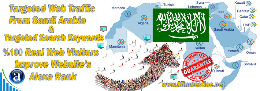 Buy Targeted Geo Web Traffic From Saudi Arabia