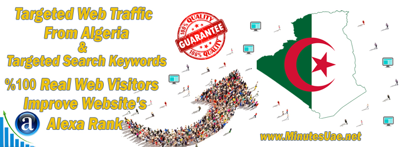 Buy Targeted Geo Web Traffic From Algeria