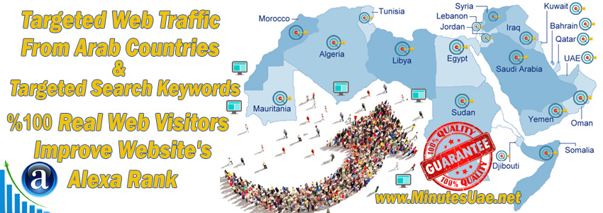 Buy Targeted Web Traffic From Arab Countries
