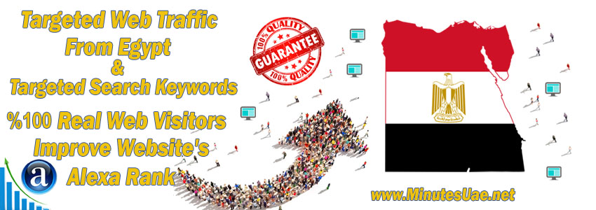 Buy Targeted Geo Web Traffic From Egypt