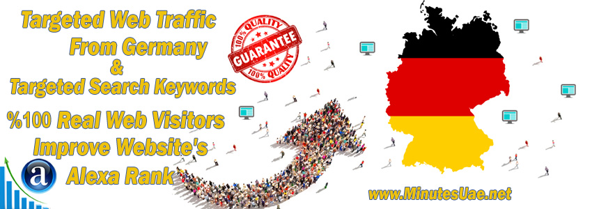 Buy Targeted Geo Web Traffic From Germany