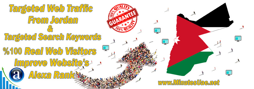 Buy Targeted Geo Web Traffic From Jordan