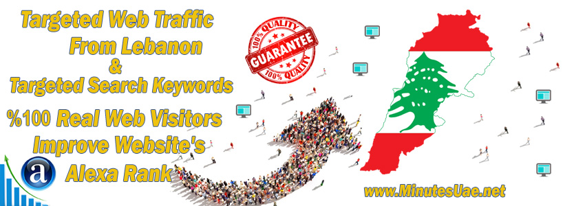 Buy Targeted Geo Web Traffic From Lebanon