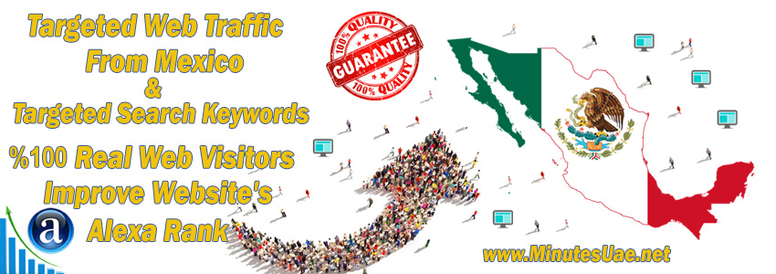 Buy Targeted Geo Web Traffic From Mexico