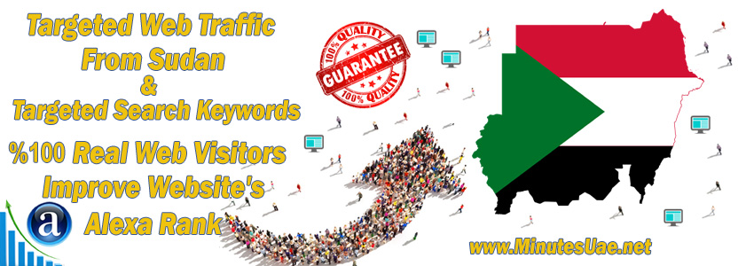 Buy Targeted Geo Web Traffic From Sudan
