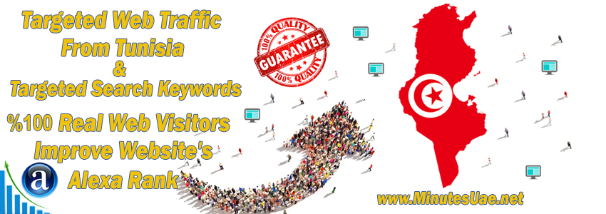 Buy Targeted Geo Web Traffic From Tunisia