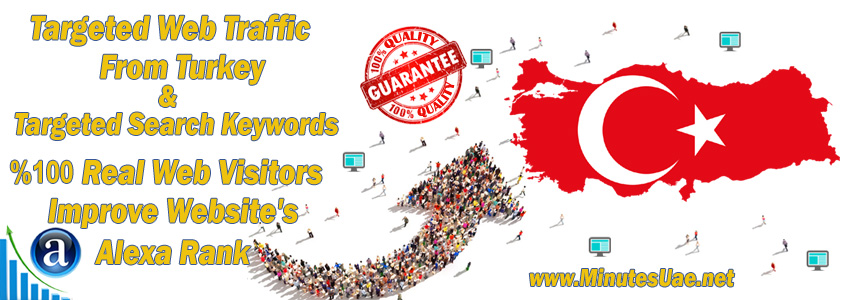 Buy Targeted Geo Web Traffic From Turkey