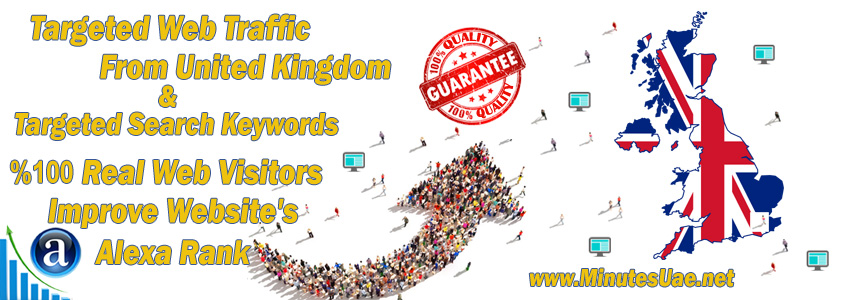 Buy Targeted Geo Web Traffic From UK, United Kingdom
