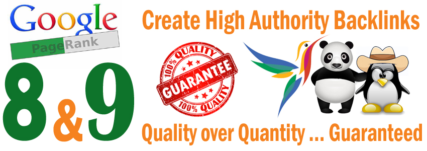 Manually powerful high quality pagerank 9 backlinks and high domain and page authority with login information