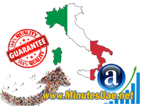 50.000 targeted visitors from Italy