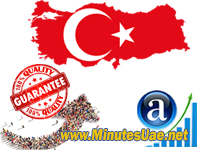 50.000 targeted visitors from Turkey