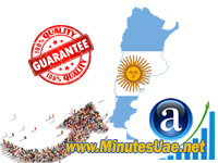 4000 targeted visitors from Argentina