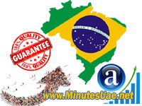 4000 targeted visitors from Brazil