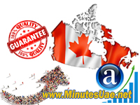 20000 targeted visitors from Canada