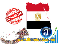 10000 targeted visitors from Egypt