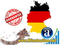 25000 targeted visitors from Germany