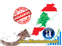 8000 targeted visitors from Lebanon