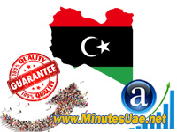 8000 targeted visitors from Libya