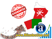 2500 targeted visitors from Oman