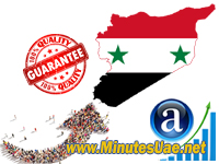 GEO Targeted visitors from Syria