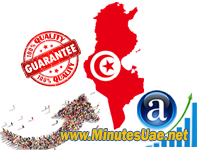 4000 targeted visitors from Tunisia