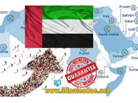 2500 targeted visitors from UAE, United Arab Emirates
