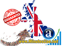 50000 targeted visitors from UK, United Kingdom