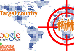 Target country in Google Webmaster Tools